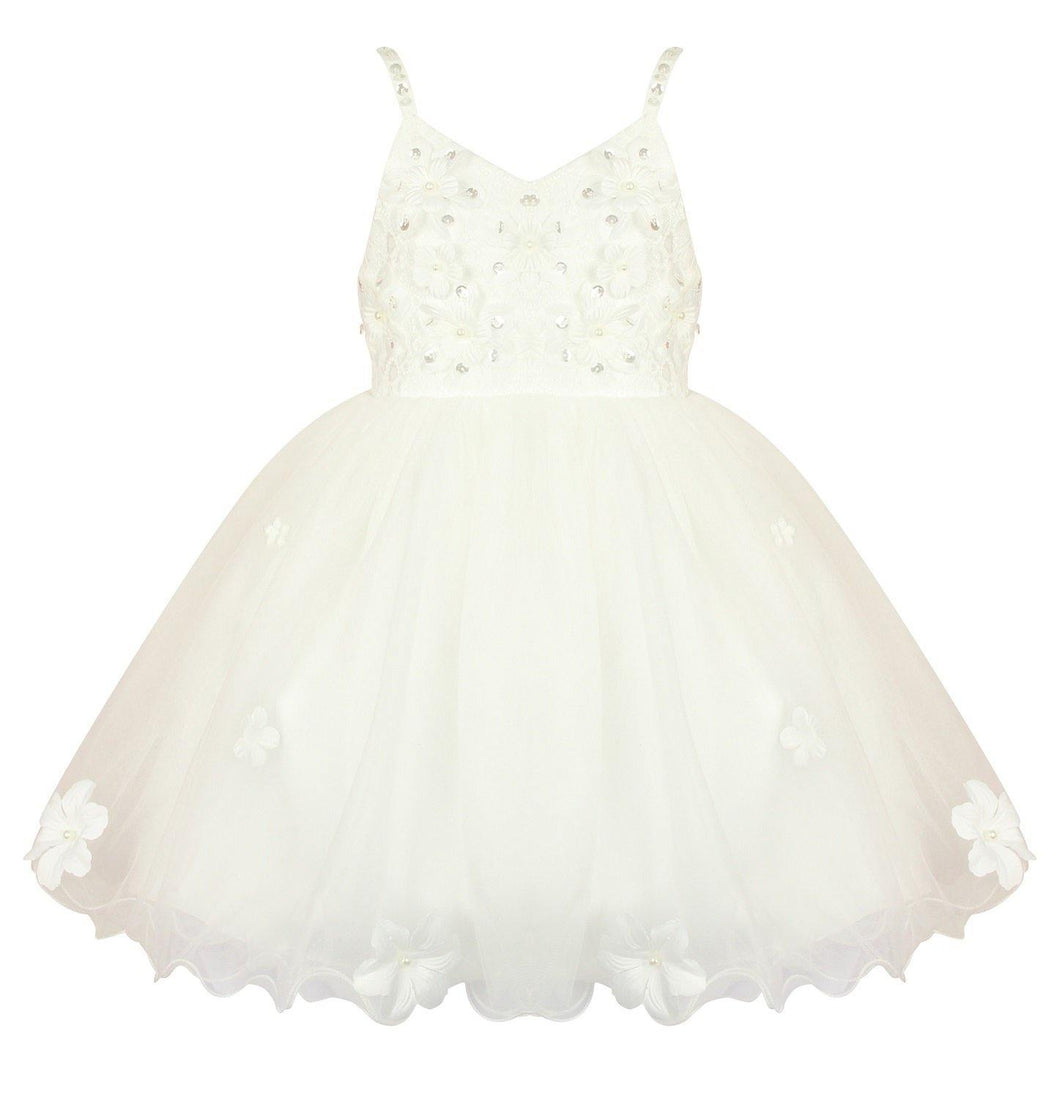 Daisy May Flower Girls Party Dress