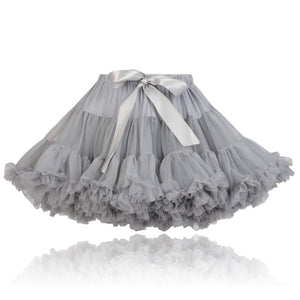 Silver Couture Princess Pettiskirt