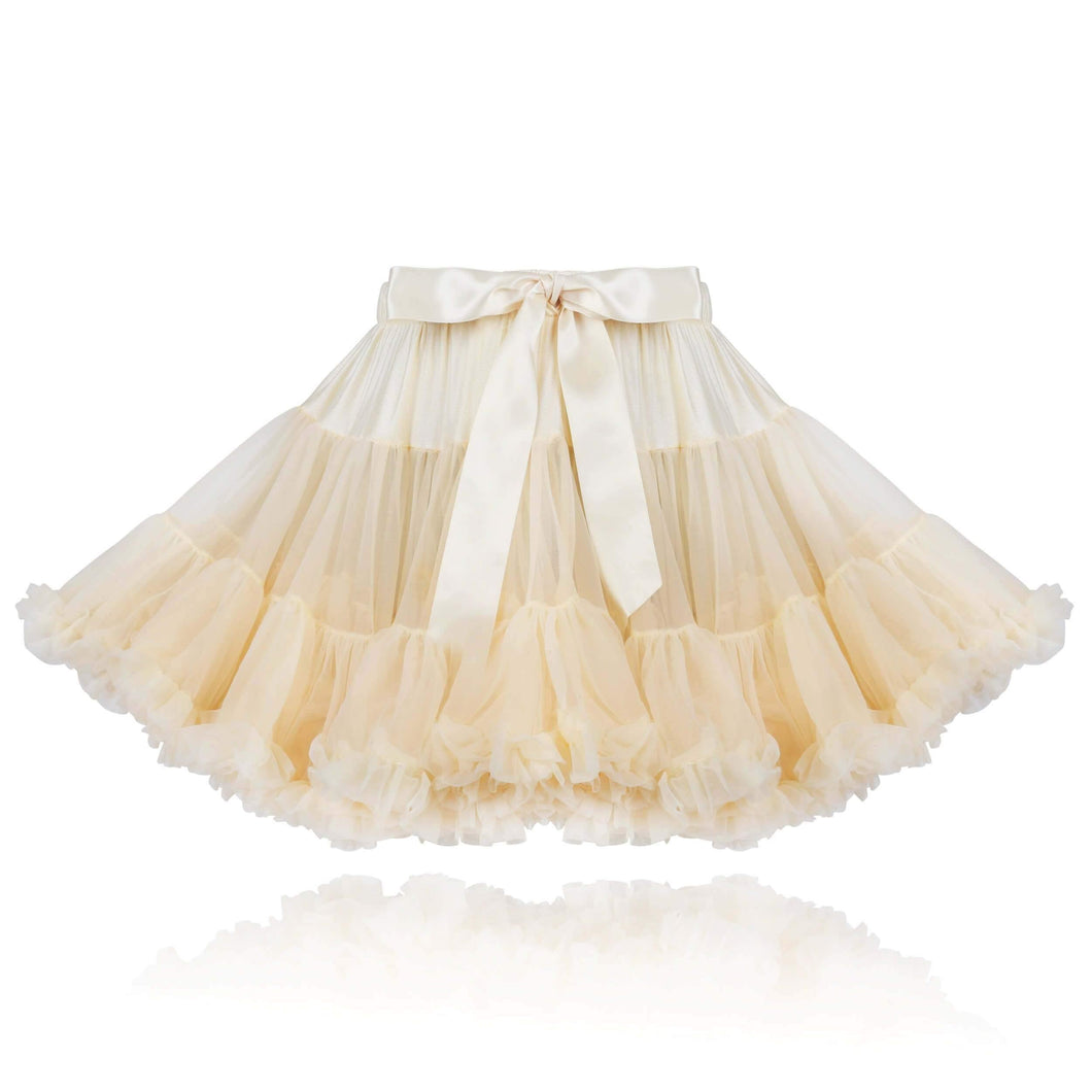 Vanilla Cream Couture Princess Pettiskirt