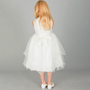 Tiffany Flower Girl - Ivory