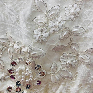 Boho Dreams - Ivory Applique