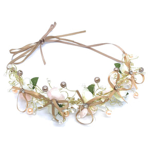 Pretty Bohemian Flower Band