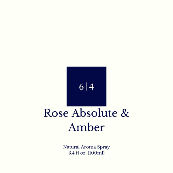 Rose Absolute & Amber Aroma Spray