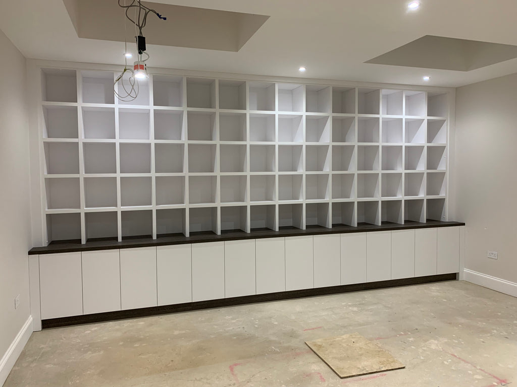 Case Studies: Vinyl Storage Unit - Wall AV Furniture