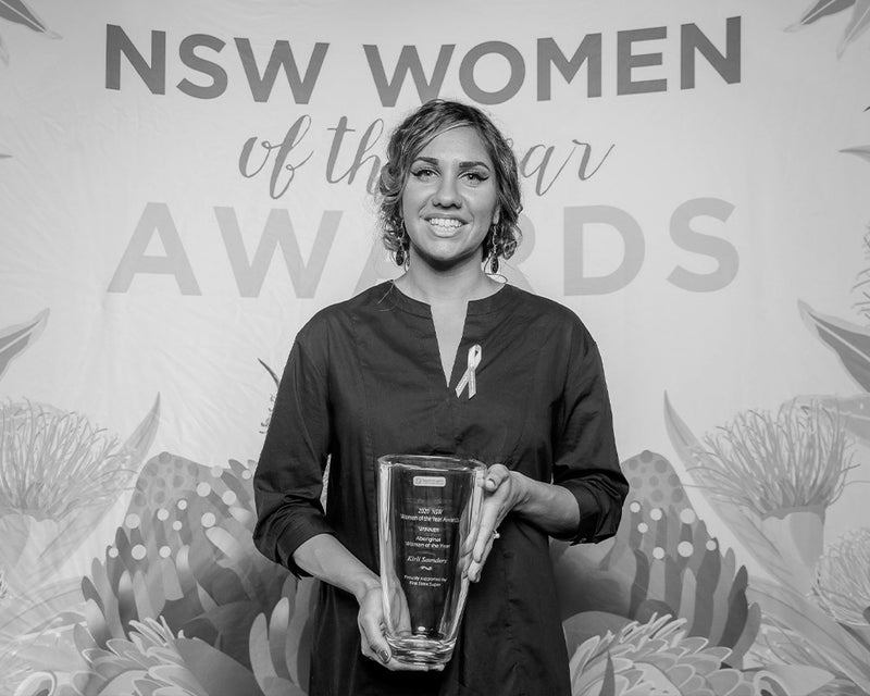 zk woman: kirli saunders - nsw aboriginal woman of the year