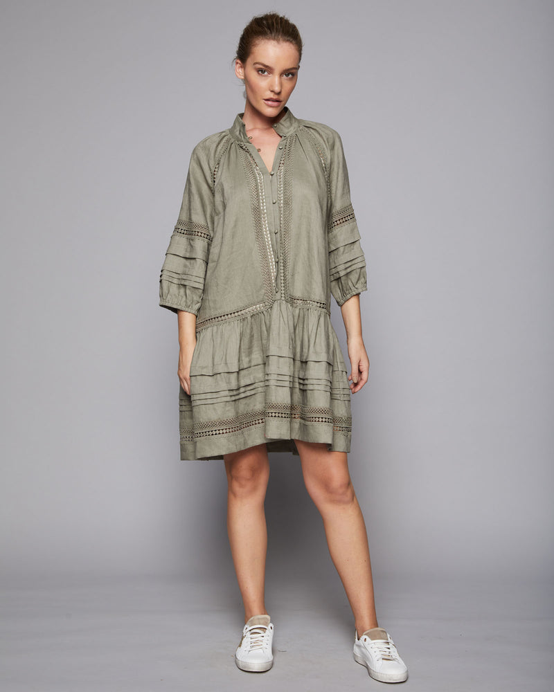 mingle dress - khaki