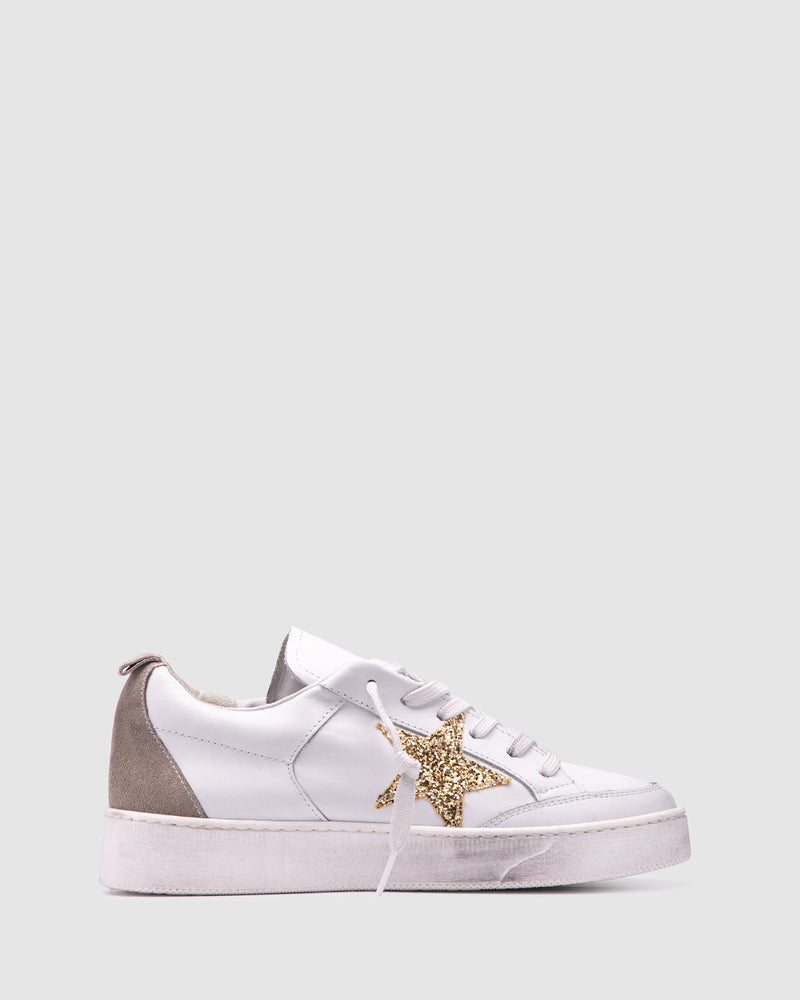 eclipse sneaker - gold
