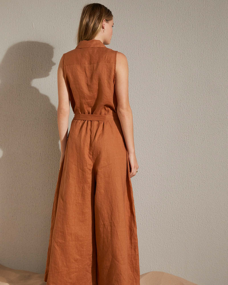 confide jumpsuit - ginger