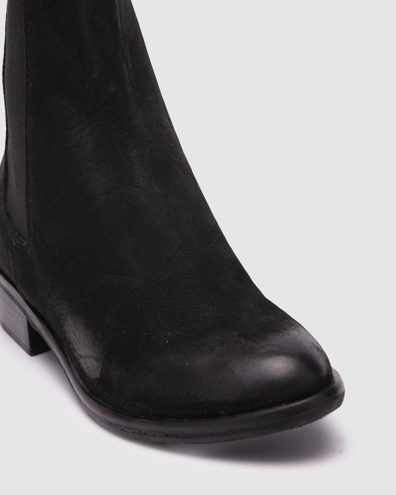 beckon boot - black