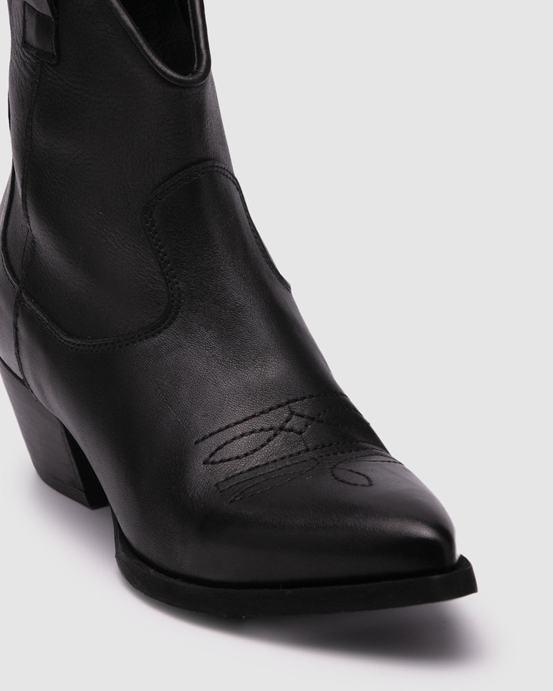 mainland boot - black