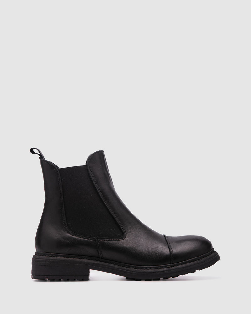 compass boot - black