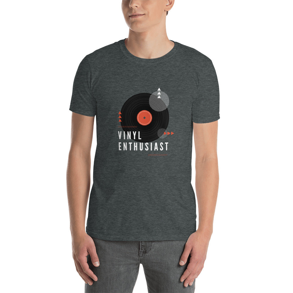 Vinyl Enthusiast Short-Sleeve Unisex T-Shirt