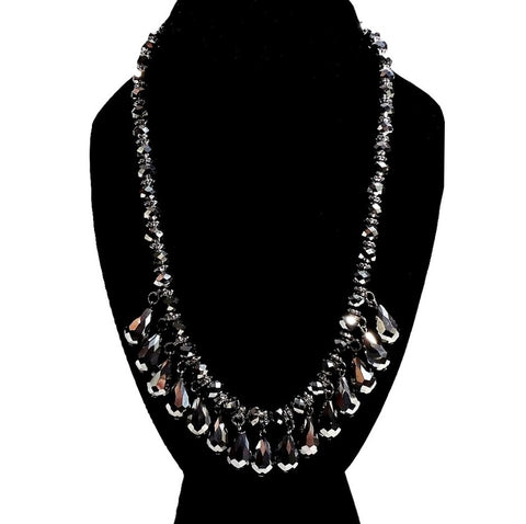 Teardrop Hematite Necklace