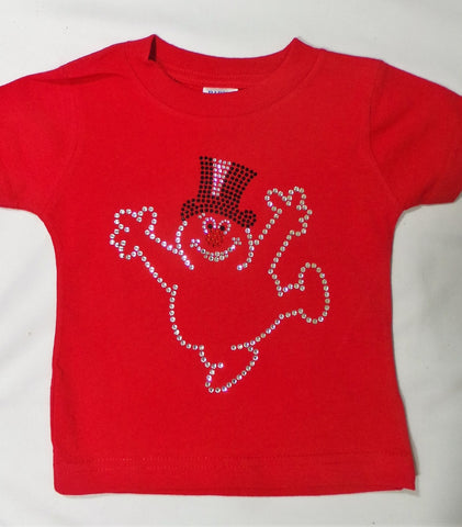 18 mos. Child Frosty Red Tee Shirt