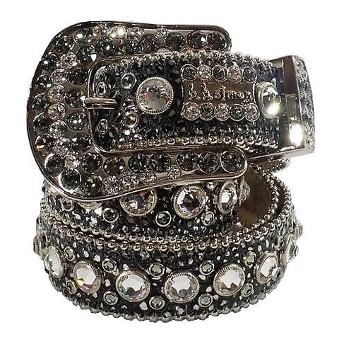 432-B39-BLACK DIAMOND/CLEAR-BF-B.B. SIMON BELT