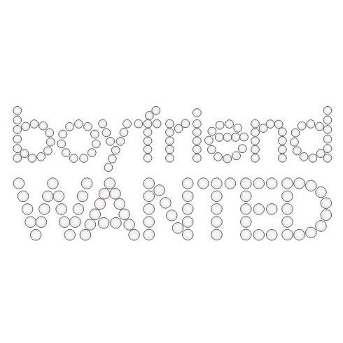 BOYFRIEND WANTED