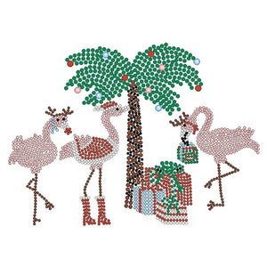 CHRISTMAS FLAMINGOS