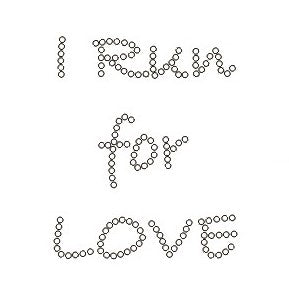 I RUN FOR LOVE KIDS RHINESTONE T-SHIRT