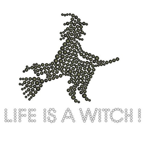 LIFE IS A WITCH KIDS RHINESTONE T-SHIRT