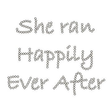 SHE RAN HAPPILY EVER AFTER
