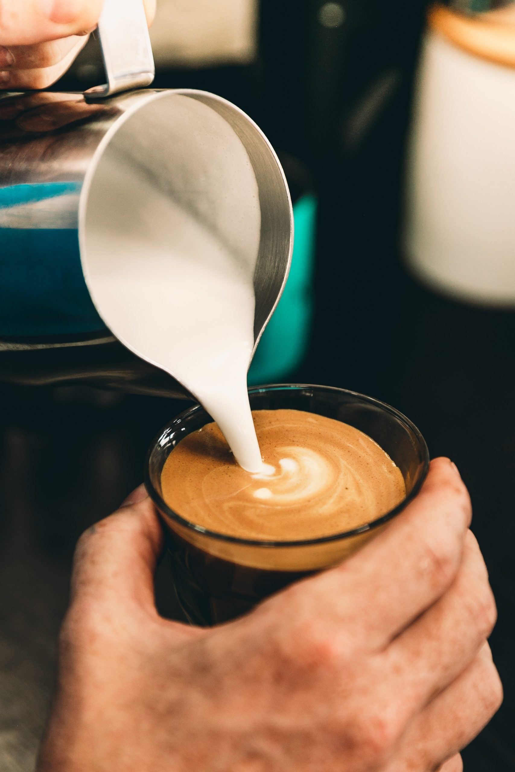 Why You Suck At Latte Art and How To Fix It