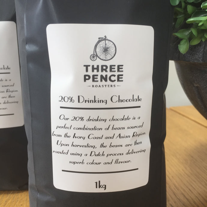 Three Pence 20% Drinking Chocolate 1kg