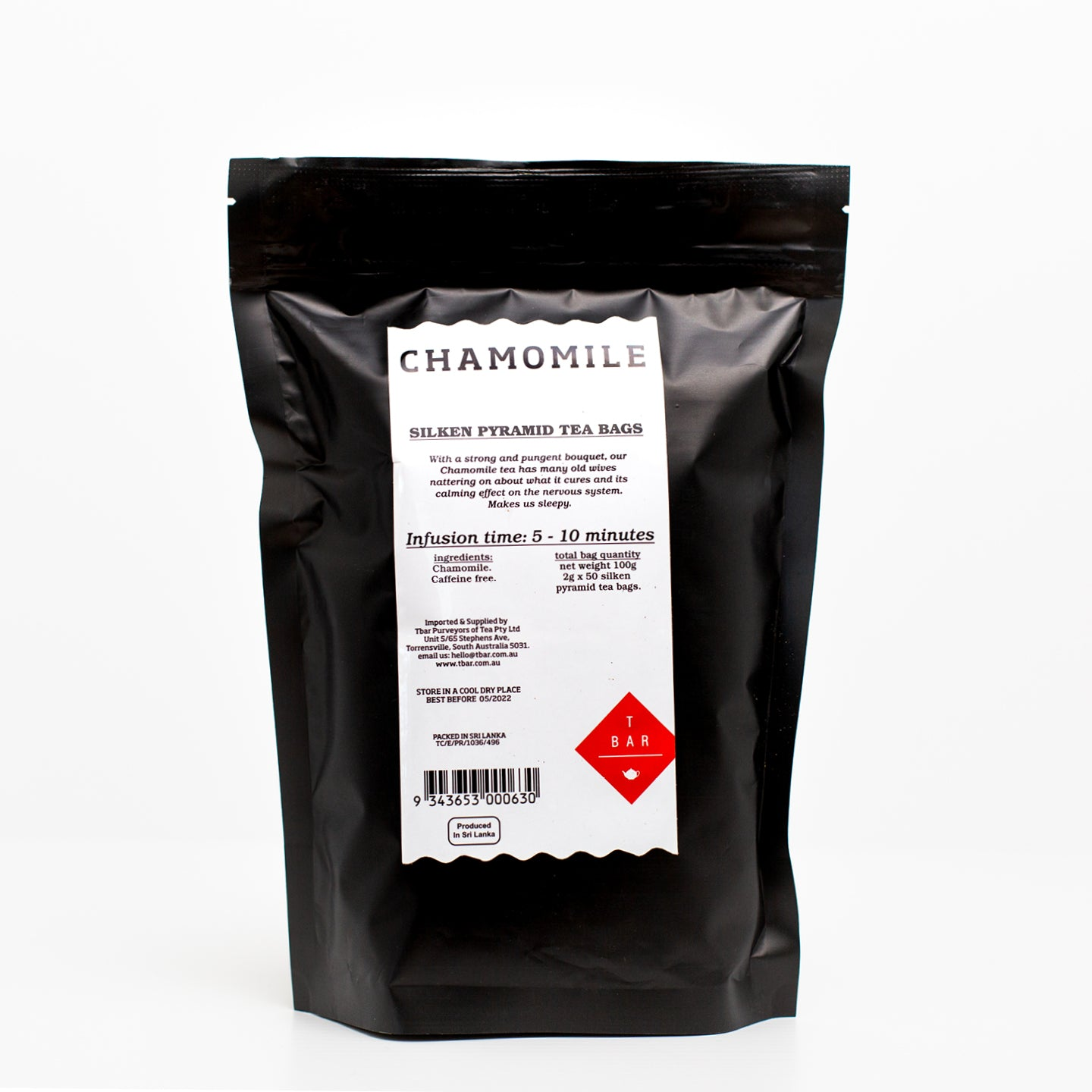 T-Bar Chamomile Tea Bags