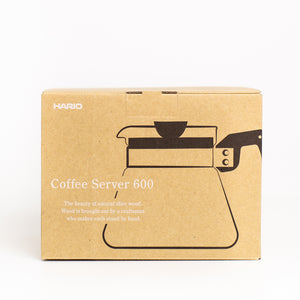 Hario V60 Coffee Server 2 Cup in Olive Wood 600ml
