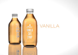 Vanilla Flavoured Cafe Style Coffee Syrup 1 Litre