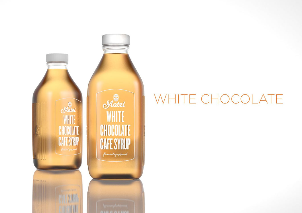 White Chocolate Flavoured Cafe Style Coffee Syrup 1 Litre