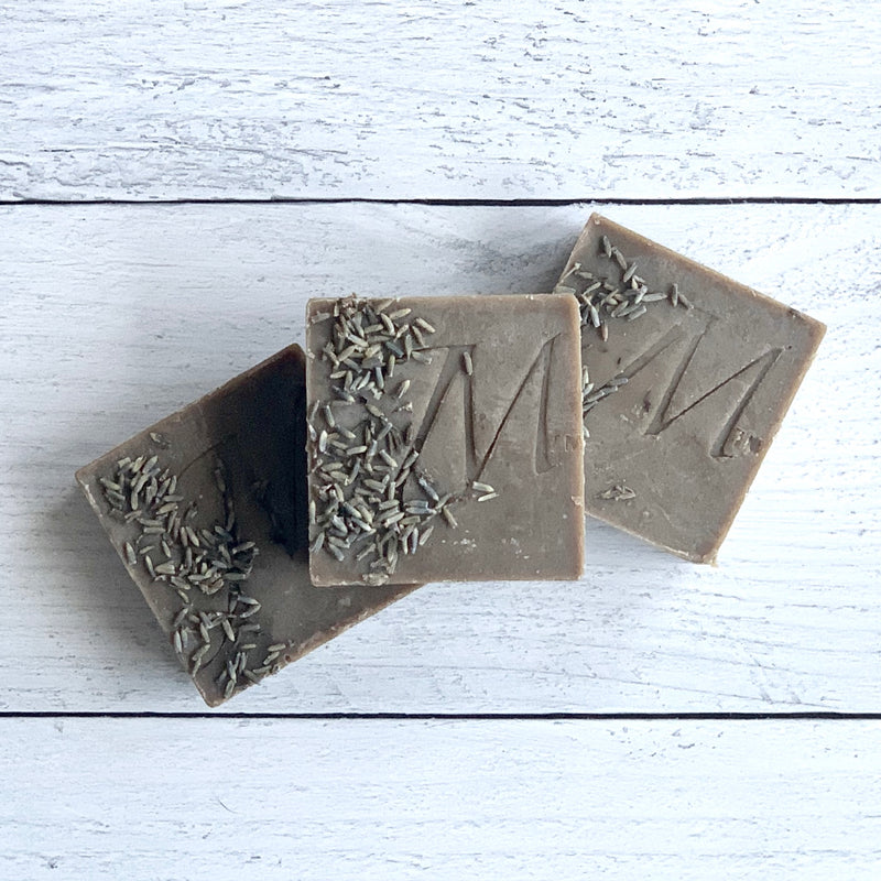 CHOCOLATE LAVENDER SHAMPOO BAR