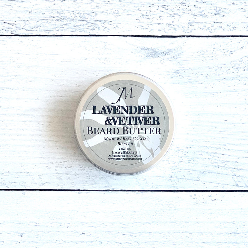 LAVENDER & VETIVER BEARD BUTTER