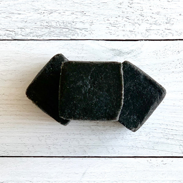 DETOX SUGAR SCRUB CUBE W/ ACTIVATED CHARCOAL