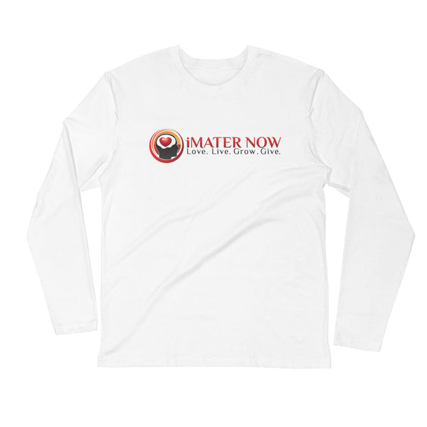 iMATER NOW Long Sleeve Fitted Crew