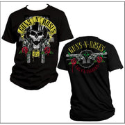 Guns N' Roses Top Hat Guns - Mens Black T-Shirt