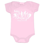 The Beatles Love Logo - Infant Pink Onesie