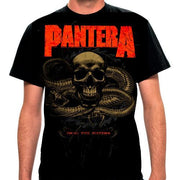 Pantera Snake - Mens Black T-Shirt