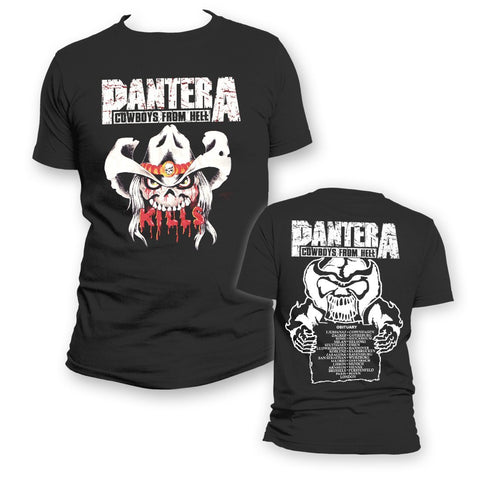 Pantera C.F.H. Kills - Mens Black T-Shirt