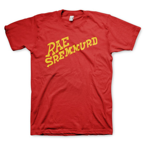 Rae Sremmurd Rae Red - Mens Red T-Shirt