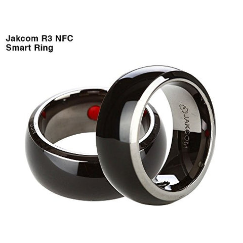 Jakcom R3 NFC Smart Ring Electronics Mobile Phone Accessories compatible with Android IOS SmartRing Smart Watch (9#)