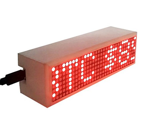 Crypto Coin Price Ticker LED MATRIX Display Wi-Fi