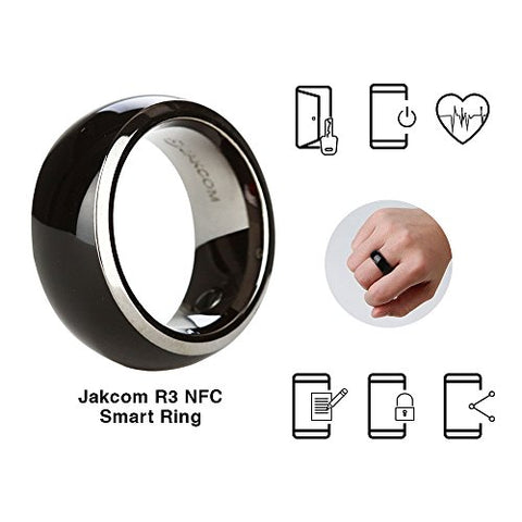 Jakcom R3 NFC Smart Ring Electronics Mobile Phone Accessories compatible with Android IOS SmartRing Smart Watch (10#)