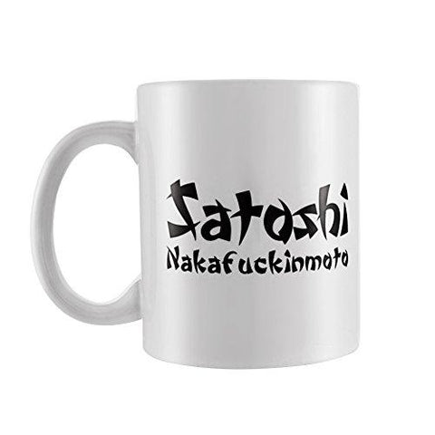 11 OZ Satoshi Nakamoto Coffee Mug or Tea Cup- Unique & Funny Gift or Souvenir to Bring to the Office| Perfect for Cryptocurrency Bitcoin Enthusiasts