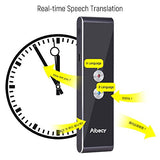 Smart Multi Language Translator Speech/Text Device with APP for Business Travel (Silver)