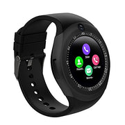 Round Smart Watch with Bluetooth, Camera and SD/SIM Card Slot