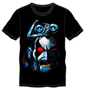 DC Comics Anti-Hero Lobo Men's Black T-Shirt