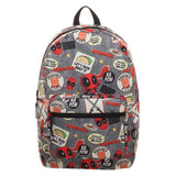 Deadpool Backpack  Marvel Deadpool Patches Backpack