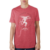 Fireball Red Heather T-Shirt
