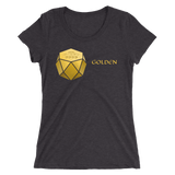 Ladies' GOLDEN (GDN) Tri-Blend short sleeve t-shirt