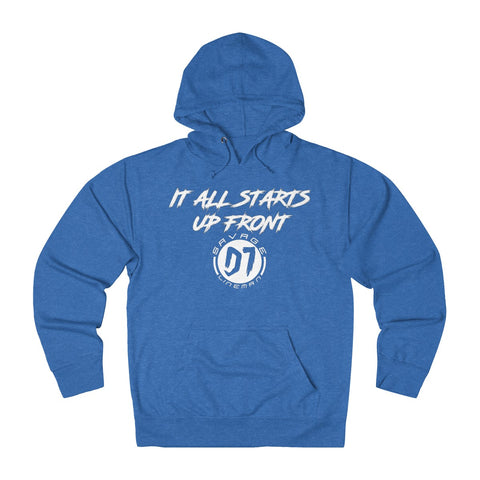 All Starts Up Front Hoodie